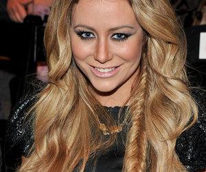 blonde, hair, and fishtail braid image