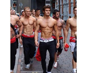 abs, male, and Tattoos image