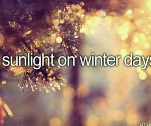 sunlight, winter, and days image