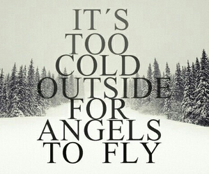 angel, ed sheeran, and cold image