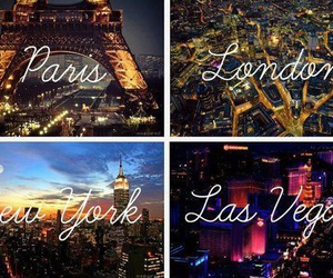 paris, london, and Las Vegas image