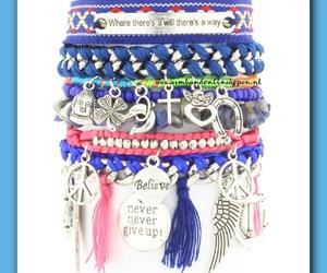 bohemian, bracelet, and armbanden image