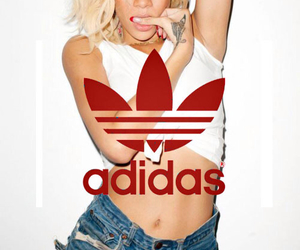 adidas and rihanna image