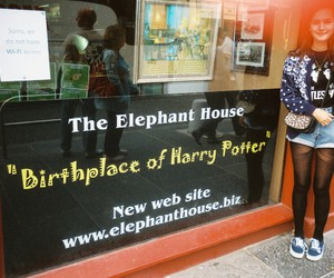birth, fashion, and harry potter image