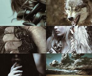 mythology, greek mythology, and norse mythology image