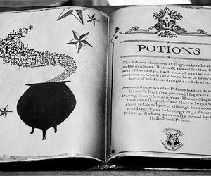 potion, harry potter, and book image