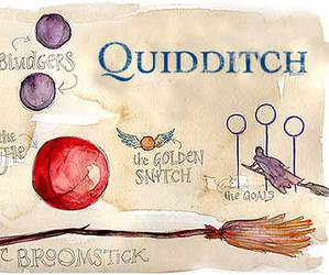 harry potter, quidditch, and broomstick image