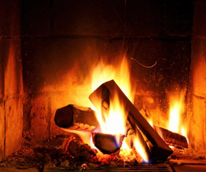 fire, Hot, and winter image