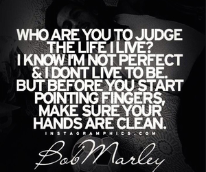 quote, bob marley, and life image