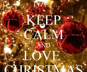 christmas, love, and keep calm image