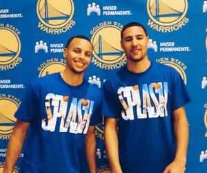 golden state warriors, dubnation, and klay thompson image