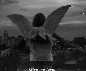 love, angel, and ed sheeran image