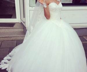 bride, dress, and henna image