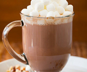 chocolate, hot ​chocolate, and drink image
