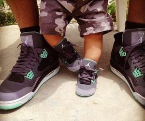 shoes and jordans image
