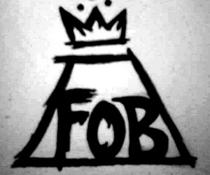 fall out boy, FOB, and Logo image