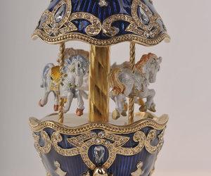 carousel, music box, and christmas image