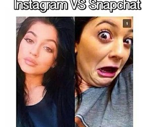 snapchat, funny, and jenner image
