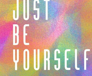 be yourself and love yourself image