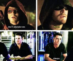arrow, oliver queen, and red arrow image
