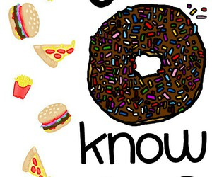 burger, Collage, and donut image