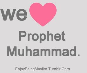 islam, muslim, and muhammad image