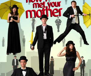 how i met your mother, himym, and series image