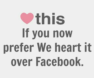 facebook, we heart it, and heart image