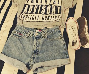outfit, love, and fashion image