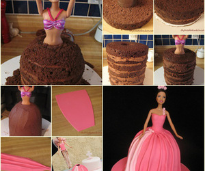 barbie and cake image