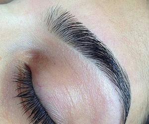eyebrows, perfect, and makeup image