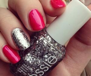 nail art, nails, and essie image