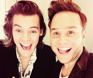 Harry Styles, one direction, and olly murs image