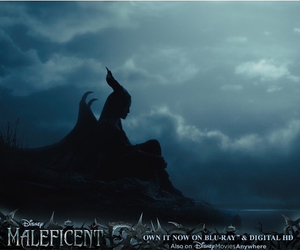 Angelina Jolie, disney, and maleficent image