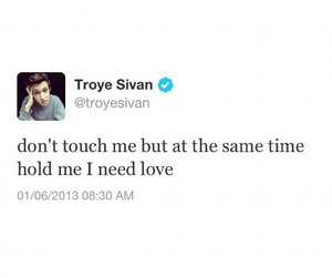 funny, dont touch, and troye sivan image