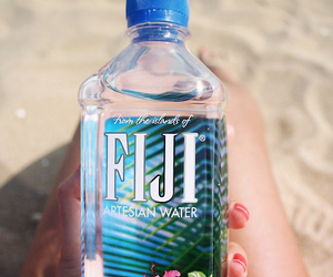 water, fiji, and summer image