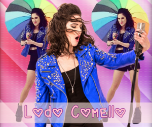banner, violetta, and martina stoessel image