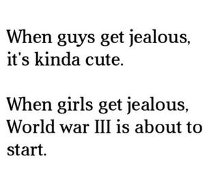 girl, jealous, and boy image