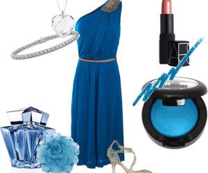 blue, bracelet, and diamond image