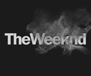 the weeknd, smoke, and weekend image
