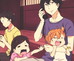 barakamon, hina, and anime image