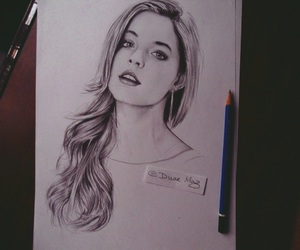sasha pieterse, art, and drawing image