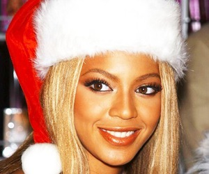 beyoncé, beautiful, and christmas image