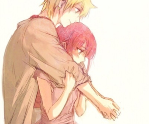 magi, anime, and couple image