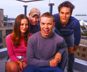 cast, the maze runner, and dylan o'brien image