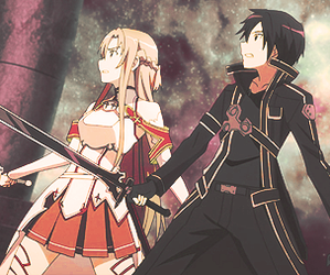 sword art online, kirito, and anime image