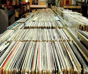 vintage, music, and records image