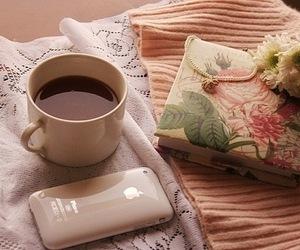 iphone, coffee, and tea image