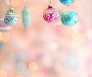 christmas, ornaments, and decorations image