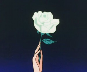 rose, gif, and flowers image